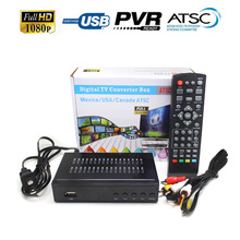DMYCO DVB HD Satellite Receiver 1080P DVB ATSC HD Support HD Youtube Youpron powervu For USA Canada Korea Genuine tv receiver