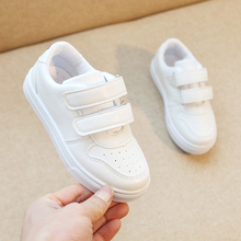 Girls sports shoes 2019 spring and autumn breathable boys white childrens