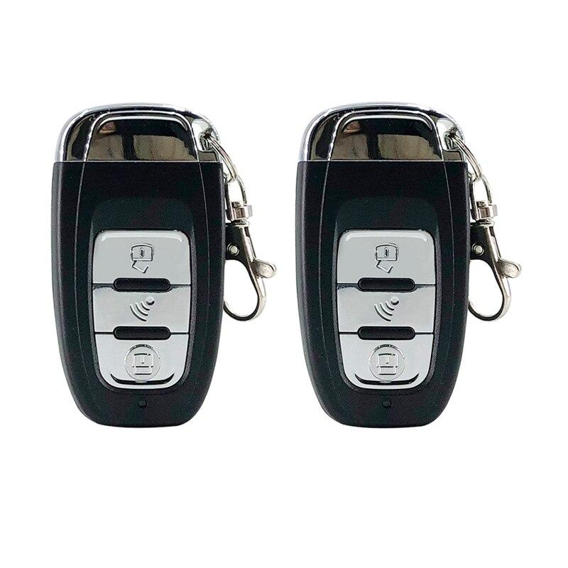 Système automatique d'entrée sans clé de voiture un bouton d'arrêt de démarrage avec le système d'alarme de voiture de démarreur à distance - 4