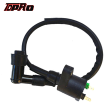 TDPRO 2 Plug Motorcycle Racing Ignition Coil Connector For Honda Yamaha GY6 110cc 125cc 150cc 200cc 250cc Quad Dirt Bike Scooter