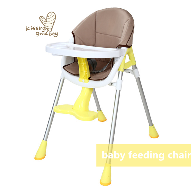 Seat High Chair Turquoise Dining Room Covers Children Eat Highchair Baby Dinner Bb Multi Functional Portable Widen Feeding