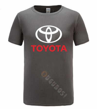 2019 Toyota homme logo T-shirt marque mode coton vêtements à manches courtes haute qualité imprimé T-shirt, voiture T-shirt