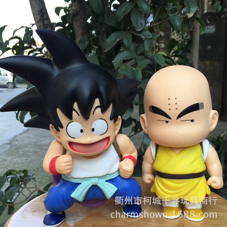 21cm 2pcs/set Dragon Ball Z Goku Kuririn Action Figure PVC Collection figures toys for christmas gift brinquedos