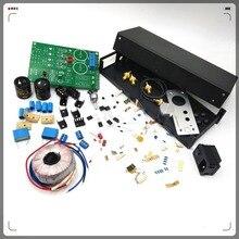 copy lehmann circuit diagram E 01 Audio stereo Headphone amplifier Dual headphone output Headphone amplifier diy kits