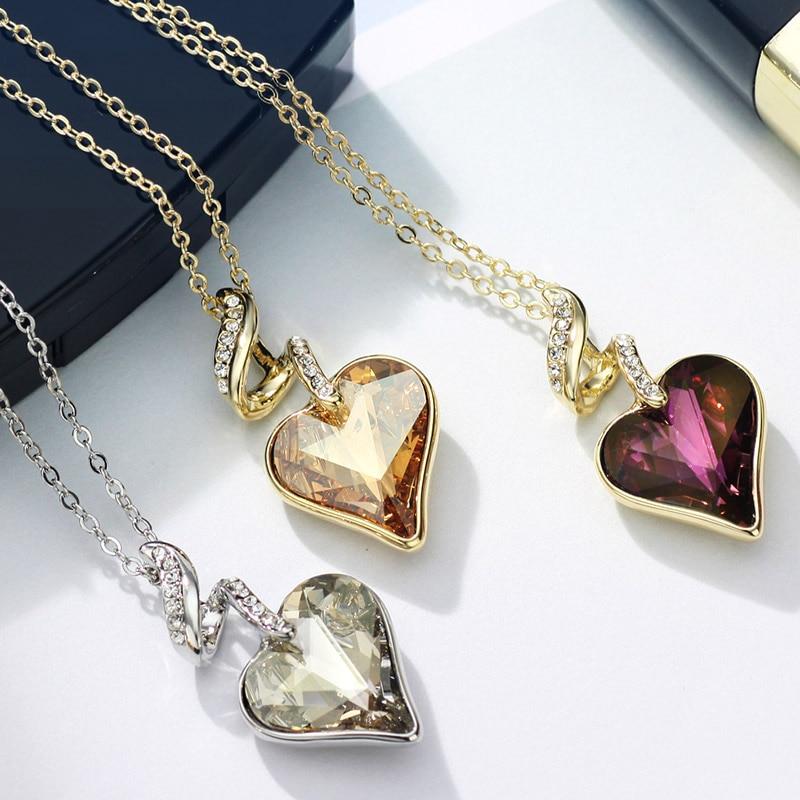 Neoglory Rhinestones de Cristal Austriaco de Cuatro Colores Corazón - Bisutería - foto 2
