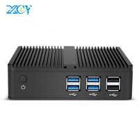 XCY Mini PC Windows 10 Intel Core i3 4010Y i5 4200Y i7 4610Y double coeur sans ventilateur Mini ordinateur de bureau HDMI VGA WiFi Nettop HTPC