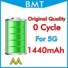 10pcs/lot Original Quality Battery for iPhone 5 5G 1440mAh 3.7V Genuine 0 zero cycle replacement For BMTI5G0BTAA