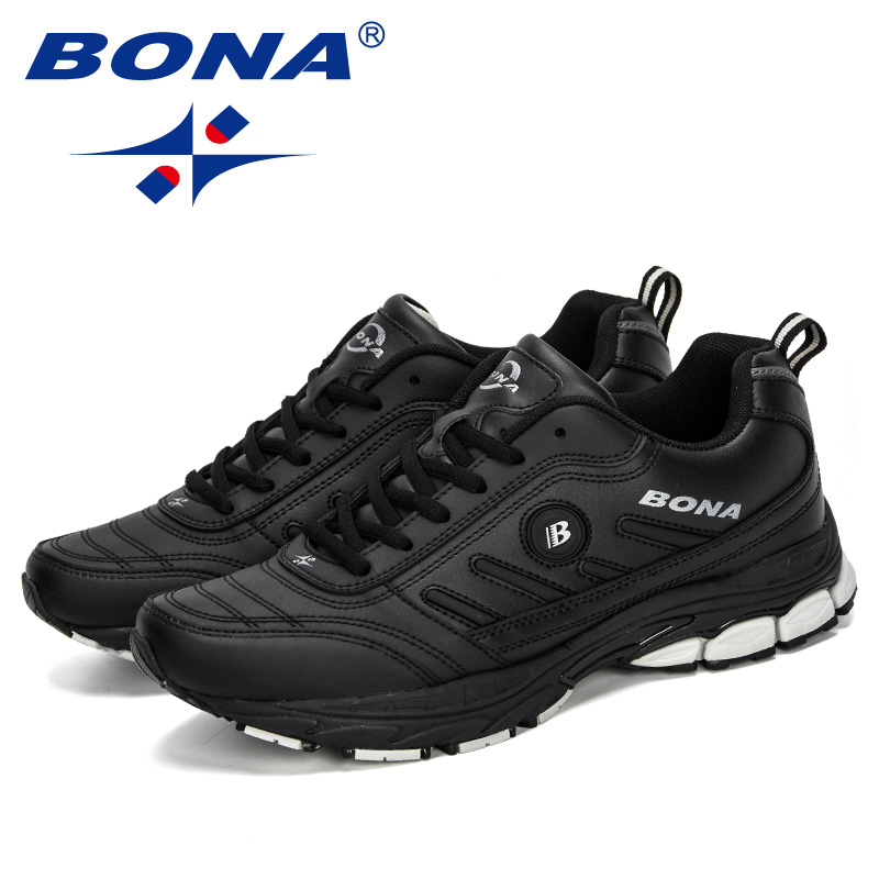 Image 5 - BONA 2019 Spring Autumn Men Running Shoes Breathable Outdoors  Sports Shoes Zapatos Jogging Comfortable Athletic Male SneakersRunning  Shoes