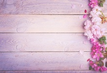 Laeacco Wooden Boards Pink Flowers Texture Scene Baby Photography Backgrounds Customized Photographic Backdrops For Photo Studio