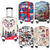 New Oil Painting London Landscape Travel Suitcase Protective Cover For 18-32 Inch Trolley Case Elastic Anti-dust Cover Perfect