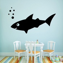 Modern Animal Shark Sticker Waterproof Vinyl Wallpaper Home Decor vinyl Stickers Party