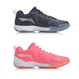 Image 3 - Li ning mulher rangertd badminton formação sapatos wearable forro anti derrapante li ning suporte estável sapatos esportivos aytp012 xyy114