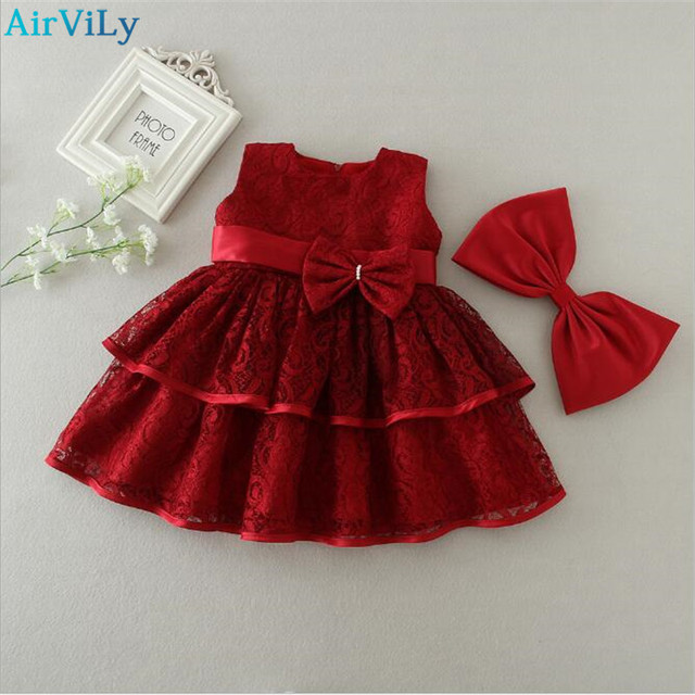 d171736f374b 1 2 years Baby Girl Birthday Dress Vintage Little Girl Baby Frocks ...