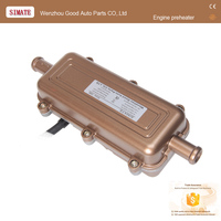 Halloween Auto heater 2kw motor heater 220 v 12 V auto heater fan voor truck bus auto etc