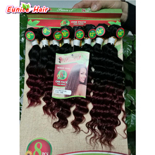 (8pieces/lot) brazilian virgin curly hair braiding