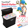Touchfive 30 40 60 80 168Colors Pen Marker Set Dual Head Sketch Markers Brush Pen For