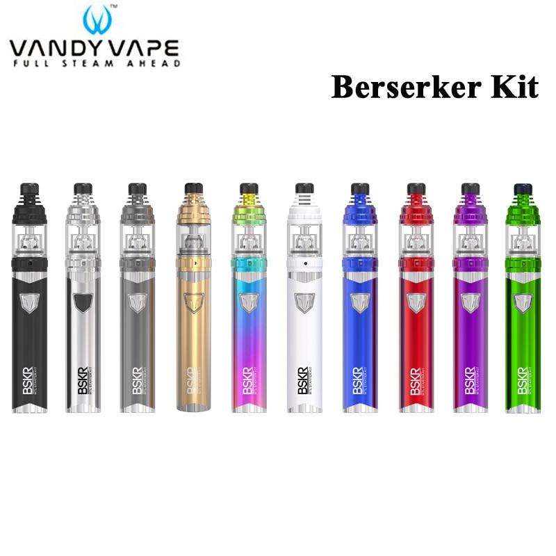 Vandy Vape Berserker BSKR MTL Kit 1100mah Battery Berserker Vape 10W 2ML 3 5ML Tank Electronic
