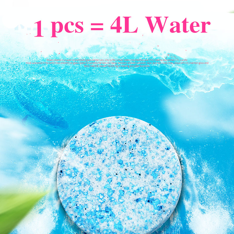Image 4 - 6PCS/Pack(1PCS=4L Water) Brand New Car Solid Wiper Fine Car Auto Window Cleaning Car Windshield Glass Cleaner-in Windshield Cleaner from Automobiles & Motorcycles