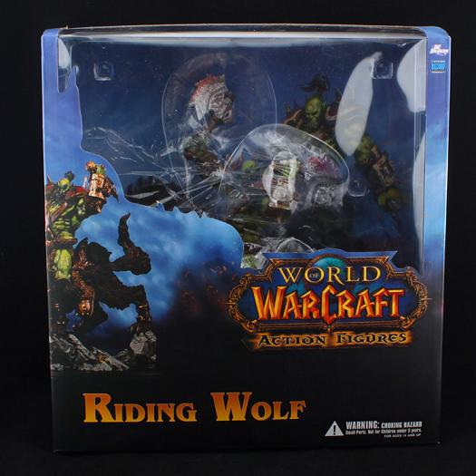 Wow Raider Riding Wolf Orcus Action Figure Statue Toy Anime Figure Collectible Model Toy Doll Robot Figure Kit Block 2