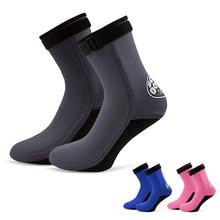 Nuevos hombres mujeres buceo calcetines botas 3mm neopreno agua natación  playa antideslizante botas botines buceo surf c37e80e394a
