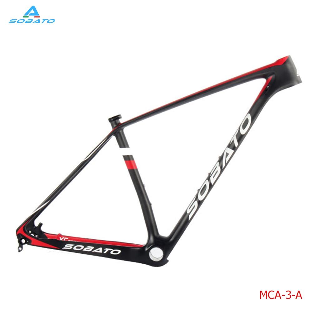 ᗑ】Sobato 29er MTB del carbón marco de la bicicleta de carbono ...