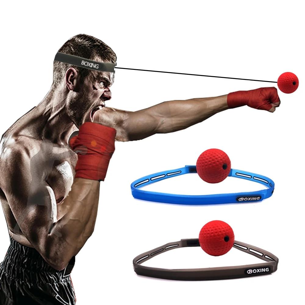 Boxing Reaction Training Set  Reflex Speed Punch Ball MMA Sanda Boxer Raising