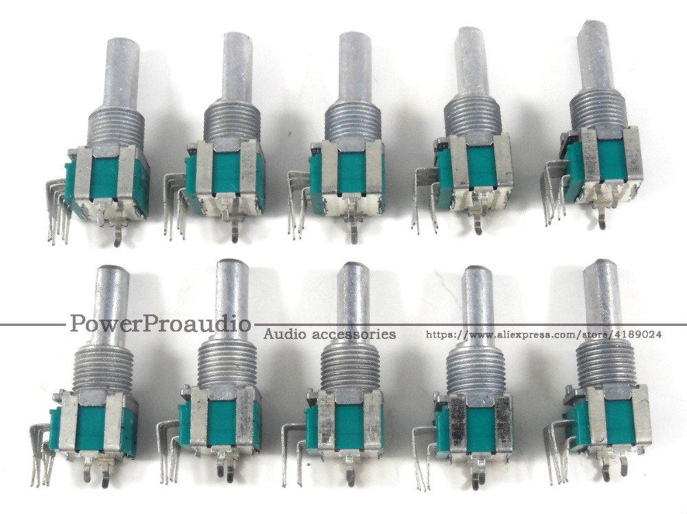 NEW 10pcs lot original DCS1086 master booth headphone volume pot rotary control for Pioneer DJM850 DJM2000