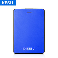 KESU 2.5 Portable External Storage Hard Drive 1TB 2TB 750GB USB3.0 HDD External HD Disk for Xbox One/Xbox/PS4/PC/Mac Blue color