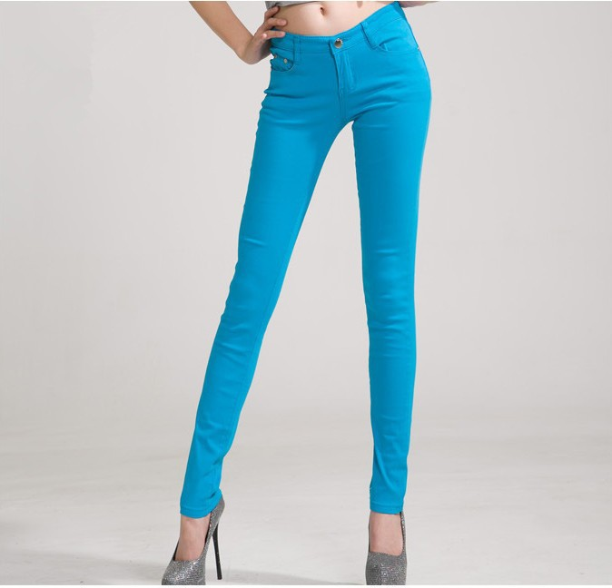 Slim Fit Skinny Pants