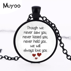 Miscarriage Keepsake Pendant Necklace - Loss of Unborn Baby - Miscarriage Necklace - Miscarriage Remembrance HZ1(China)