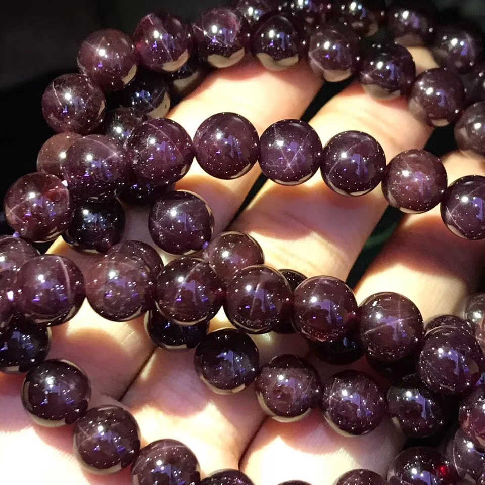 Natural Wine Red Garnet Star Light Round Beads Bracelets Healing Stone 7mm 8mm 9mm 10mm Man Women Crystal Bracelet AAAAANatural Wine Red Garnet Star Light Round Beads Bracelets Healing Stone 7mm 8mm 9mm 10mm Man Women Crystal Bracelet AAAAA