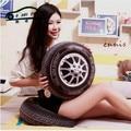 1 шт. 3D Персонализировать колеса автомобиля плюшевые подушки/моделирование шины Смешно подушки/Бесплатная доставка