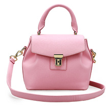 Women Messenger Bags Ladies Tote Small Shoulder Bag Woman Brand Leather Handbag Crossbody Bag With Scarf lock sac a main femme(China (Mainland))