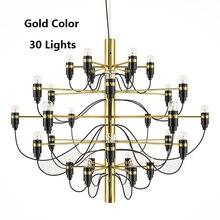Modern Gino Sarfatti Design Pendant Lights For Dinning Room Chrome Hanging Light E14 220VBedroom Lampe Home Lampadario Vintage
