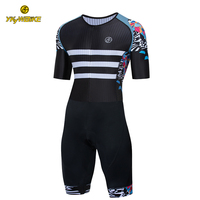 YKYWBIKE Cycling Set Triathlon Cycling Skinsuit Men MTB Bike Bicycle Cycling Suit Cycling Clothing Pro Team Maillot Ciclismo