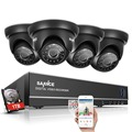 SANNCE 4CH 1080N CCTV Security System 720P TVL AHD Camera 4IN1 DVR Home Security Camera System 4 channel Video Surveillance kit