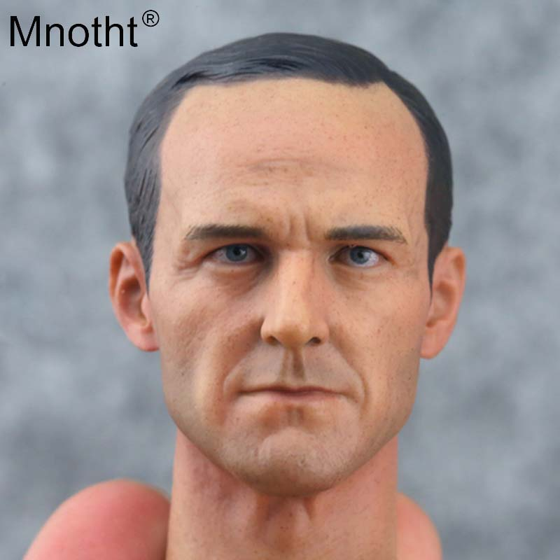 Mnotht 1/6 Soldier Colson Head Carving Aegis Bureau Special Agent Director Avengers Model Toy for 12in Action Figure m5nMnotht 1/6 Soldier Colson Head Carving Aegis Bureau Special Agent Director Avengers Model Toy for 12in Action Figure m5n