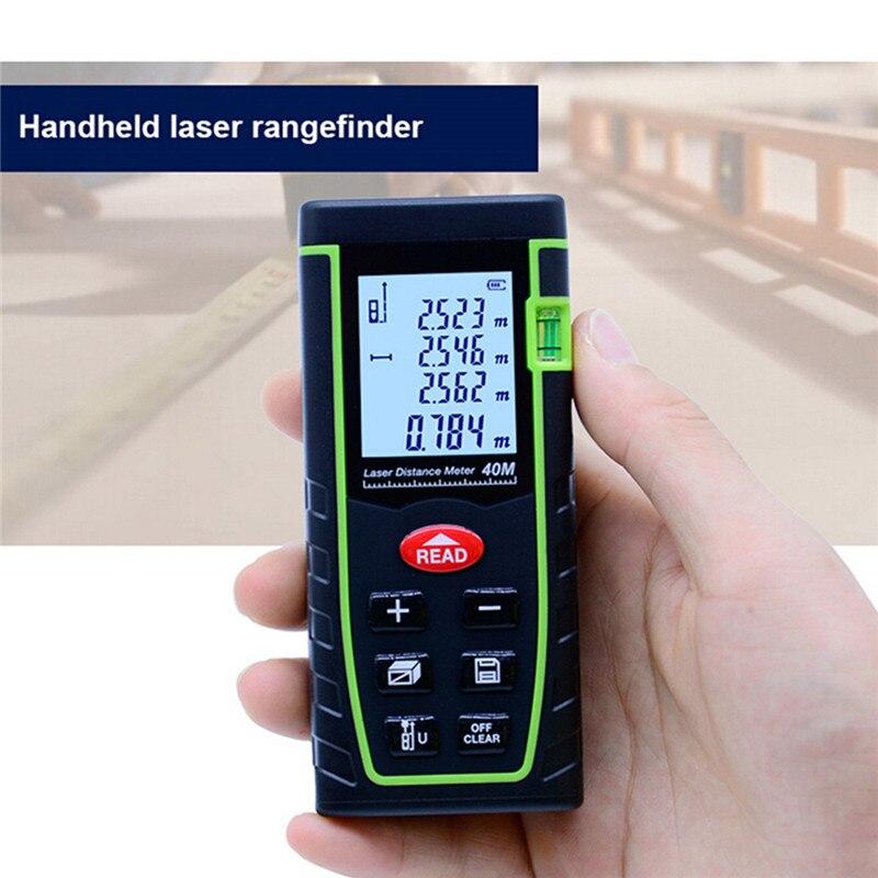 Dalmierz laserowy sndway 40m 60m 100 m 120m laserowy przyrząd pomiarowy SW-T40 SW-T60 SW-T80 SW-T100 taśma miernicza laser odległość