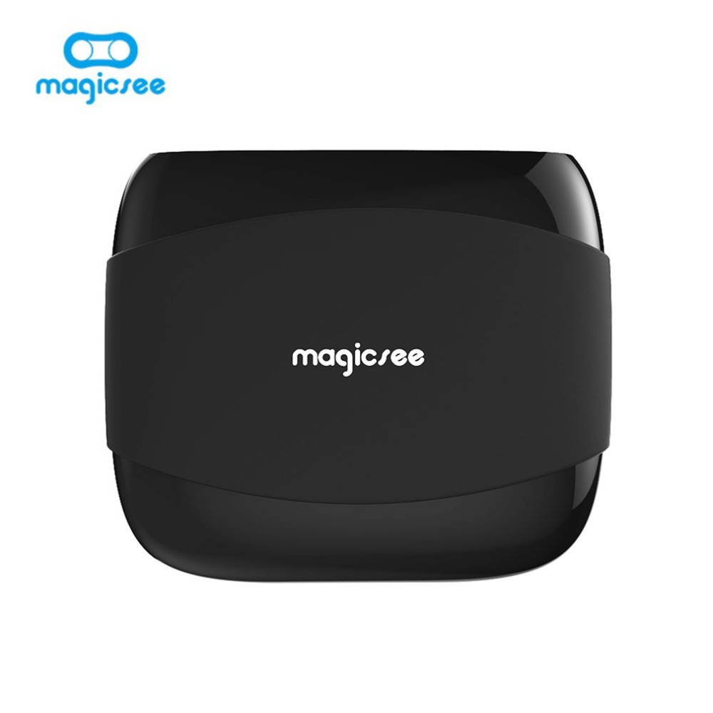 Magicsee N4 Android 7.1 Smart TV BOX Amlogic S905X Quad-core 4K Resolution Support 2.4G WIFI LAN HDMI H.265 1GB 8GB Media Player minix neo x6 quad core android 4 4 2 google tv player w 1gb ram 8gb rom xbmc h 265 au plug