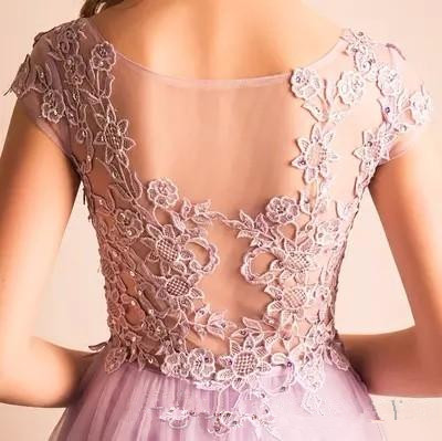 Lavender High Low Homecoming Dresses Tulle Tiered Short Formal Women Dress 2017 New Custom Special Occasion Party Gowns