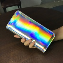 Lee Princess hologram bag coin purse holder clutch
