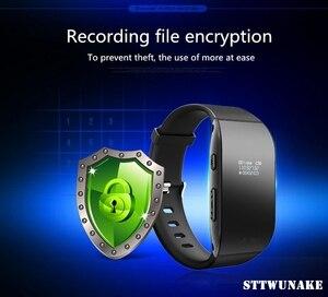 Image 5 - STTWUNAKE braccialetto registratore vocale Digitale Professionale 8GB di riduzione del rumore HD bollo di Tempo registratore vocale