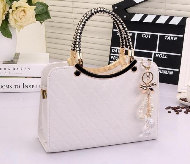 Bolso de mano para mujer, Diseñador de Bolsos de lujo de cuero de PU 2019, bandolera cruzada, bolso de marca famosa