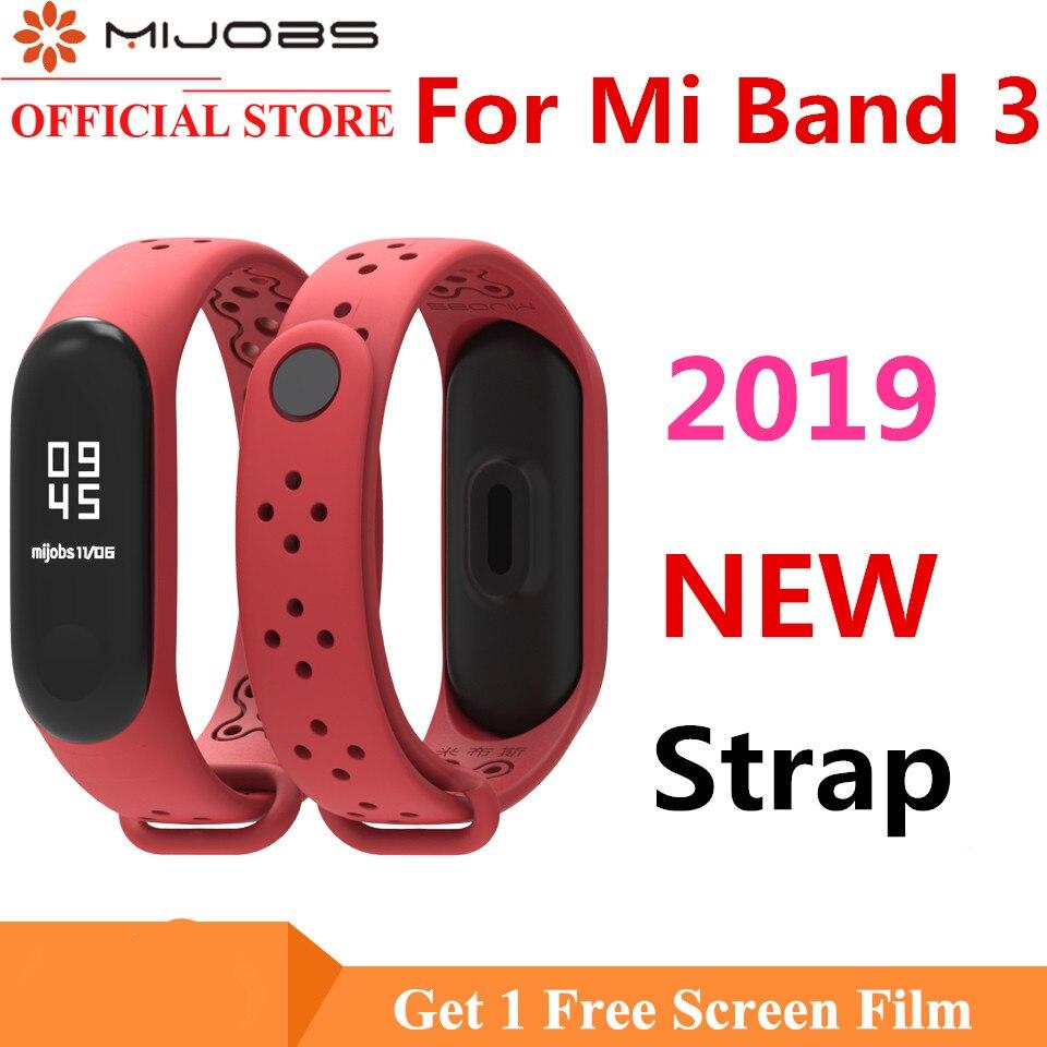 Mi empregos 3 banda me esportes 4 Strap Para Xiao mi pulseira de silicone Mi Band3 4 pulseira pulseira mi banda 3 pulseira relógio inteligente acessório