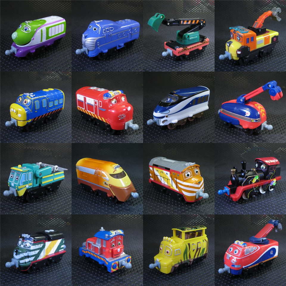Chuggington Trains Toys 19 Kinds Original Railway New Tractor Toy Train Metal Engine  Toy Vehicle Scale Diecast Metal Toy Car