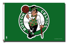 Boston Celtics Flag 3×5 FT  150X90CM Banner 100D Polyester NBA flag 104, free shipping