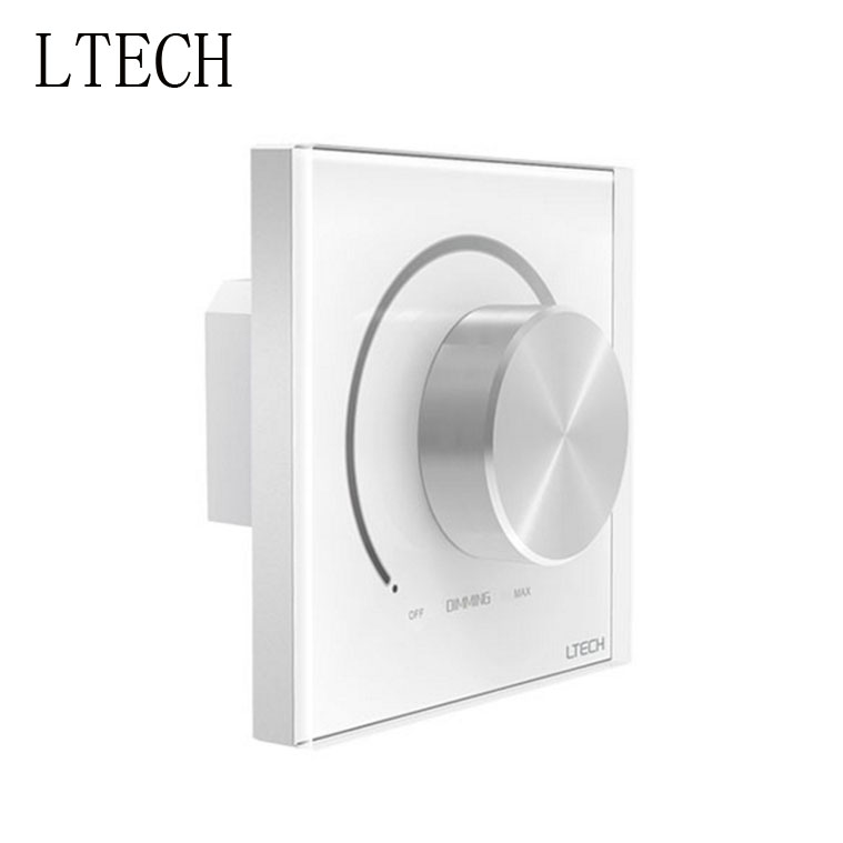 LETECH E610 1-10V Knob Panel Dimmer 90-250Vac Input 1-10V Dimming Signal Output 5A Max. Load Power