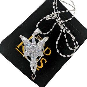 Image 4 - Alta qualidade lotr s925 sliver arwen evenstar pingente colar presente do dia dos namorados para namorada menina mulher sliver jóias