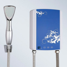 5000W Electric instantaneous water heater shower for Bathroom Kitchen sink faucet instant hot Heating LCD touch digital display