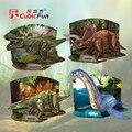 Cubicfun 3D modelo de papel jogo puzzle brinquedo DIY presente Idade do aniversário Dinos Dinossauro Jurassic Park 1 pc frete grátis crianças